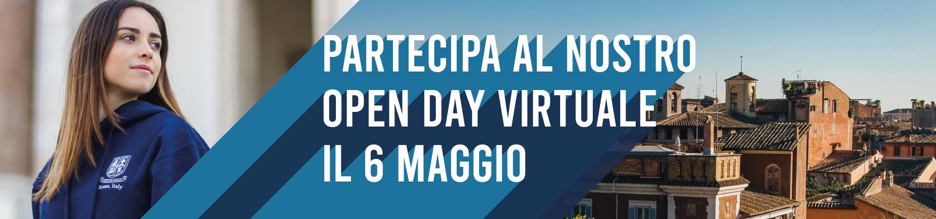 Open Day 6 maggio