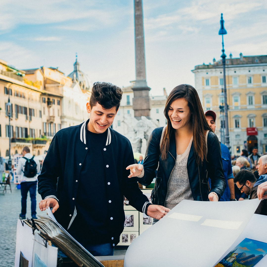Study Abroad Students in Rome
