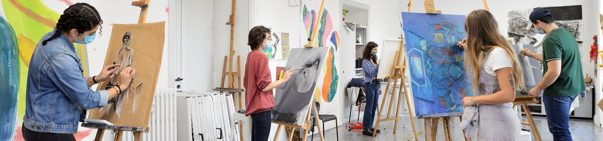Studio Art Facilities | Study Studio Art in Rome, Italy | JCU
