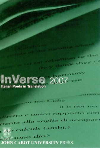 InVerse Italian Poets in Translation 2007
