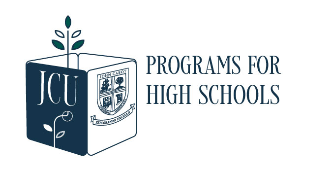 Programs for High Schools at JCU logo